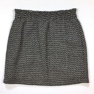J. Crew Metallic Tweed Sidewalk Skirt w/pockets 2